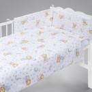 KLUPŠ Patalynė kūdikio lovytei Meškutis Princas K013