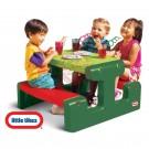 Little tikes vaikiškas pikniko staliukas