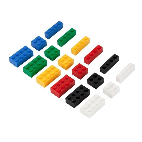 Q-Bricks rinkinys - Vaikų darželis, 1000 vnt.