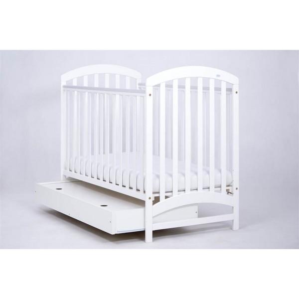 DREWEX Vaikiška lovytė ADEL baltos spalvos su stalčiumi nuotrauka nr.2