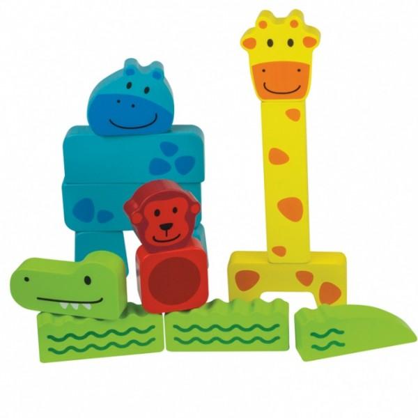 Beleduc lavinamasis žaislas - Medinė Gyvūnų dėlionė (18008)