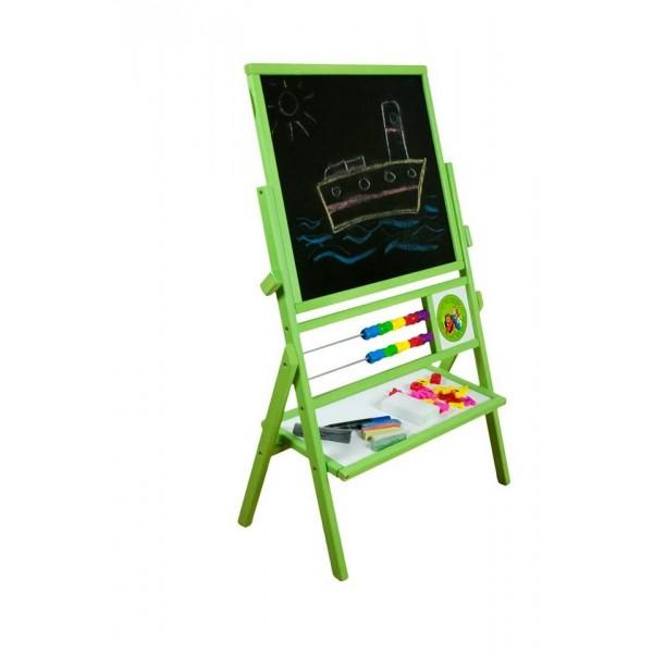 3TOYSM TZ apverčiama piešimo lenta, žalia nuotrauka nr.2