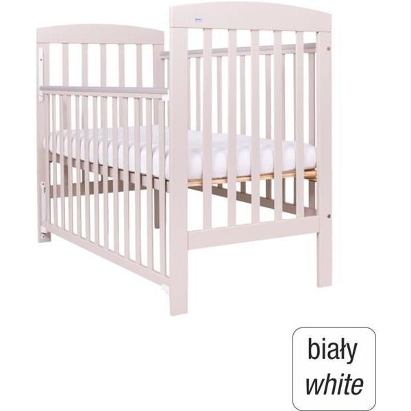 DREWEX OLEK Vaikiška lovytė su nuleidžiamu šonu, baltos spalvos