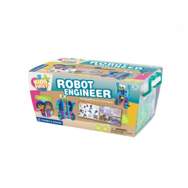 """Thames & Kosmos lavinamoji priemonė - konstruktorius pradedantiesiems """"Robotų inžinierius"""" (567009)"""