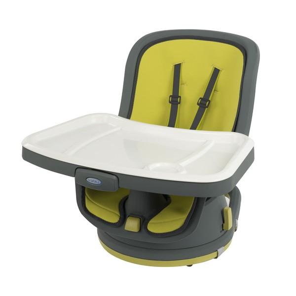 GRACO maitinimo kėdutė Swivi Booster (Lime)