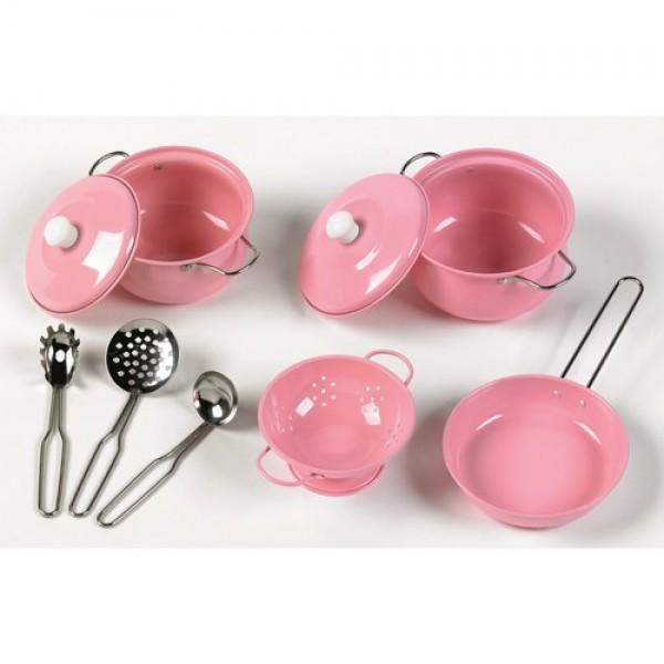 TIDLO Metalinių Indelių rožinis rinkinys