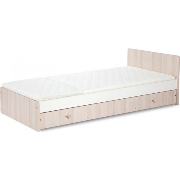 Čiužinys vaikiškas poroloninis-kokosinis KOMPAKT lovytei, DANPOL