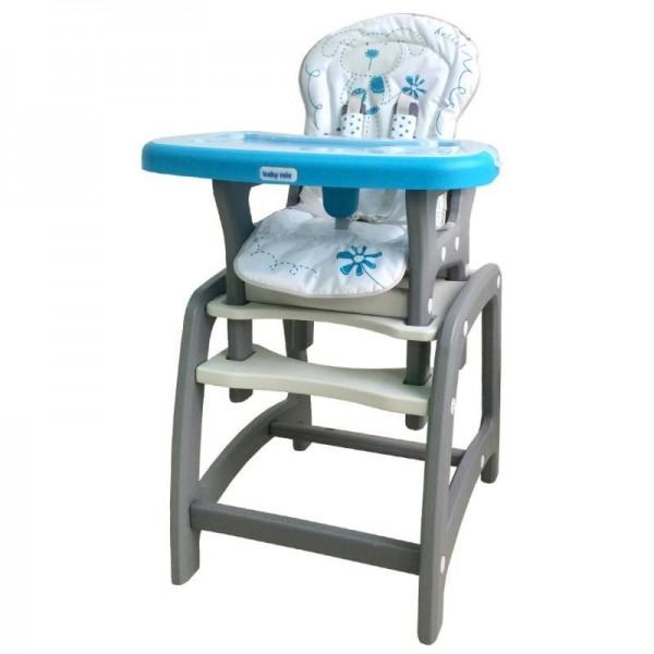 ALEXIS Transformuojama maitinimo kėdutė - staliukas UR-DC-01 nuotrauka nr.2
