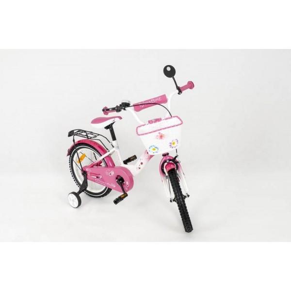 ELGROM 1801 vaikiškas dviratis TOMABIKE 18`` rausvos  spalvos nuotrauka nr.2