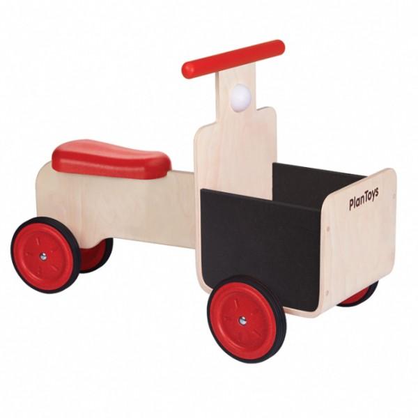 PlanToys lavinimo priemonė - prekių pristatymo dviratis (PT3479)