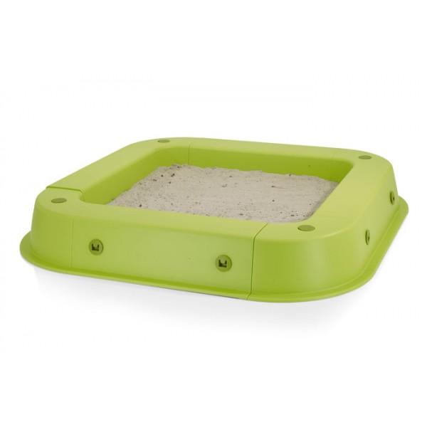 KETTLER smėlio dėžė su uždanga žalia