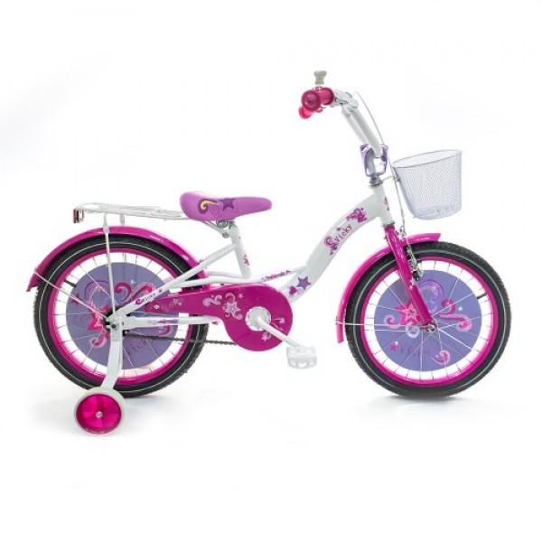Vaikiškas dviratis Vicky 4-8 metų mergaitėms