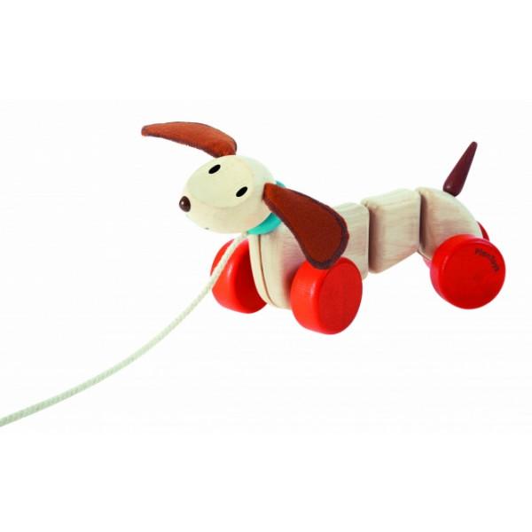 """PlanToys lavinamoji priemonė - žaislas """"Laimingas šuniukas"""" (PT5101)"""
