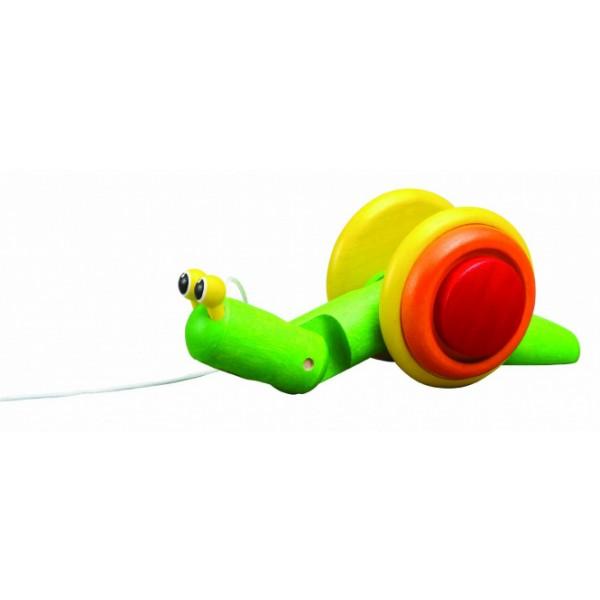 """PlanToys lavinamoji priemonė - žaislas """"Šliaužianti sraigė"""" (PT5108)"""