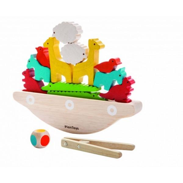 """PlanToys lavinamoji priemonė - žaidimas """"Balansuojantis laivas"""" (PT5136)"""