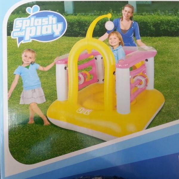 Pripučiama žaidimų aikštelė vaikams 140x140x146cm