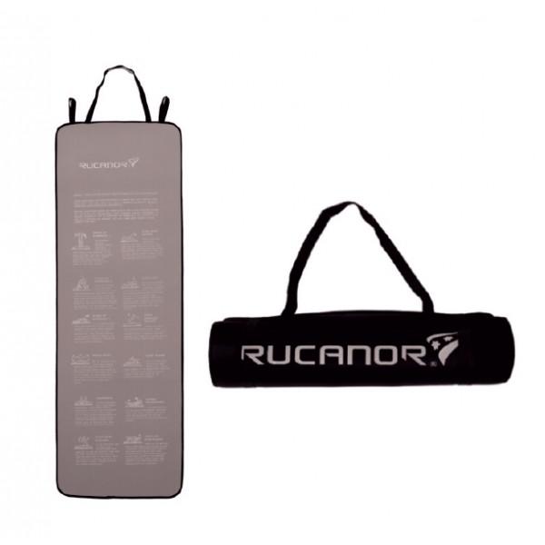 Rucanor Gimnastikos kilimėlis 27276 180x60x1cm pilkas