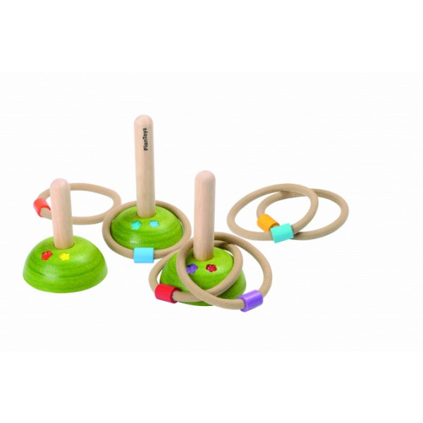 """PlanToys lavinimo priemonė - """"Meadow"""" mėtymo žiedeliai su stoveliais (PT5652)"""