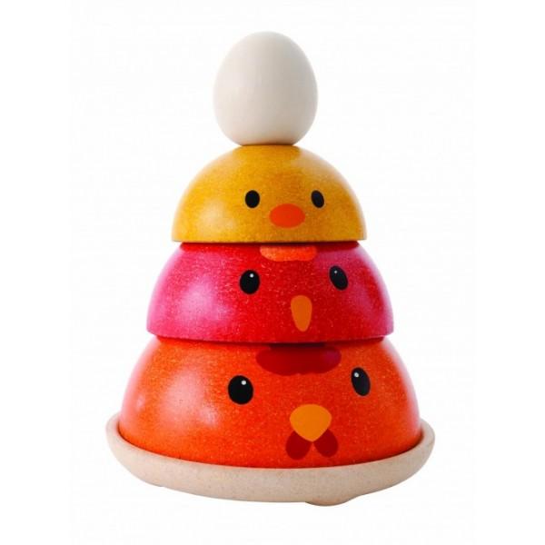 """PlanToys lavinamoji priemonė - žaidimas """"Viščiuko išsiritimas"""" (PT5695)"""