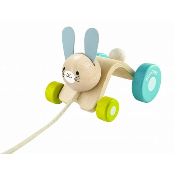 """PlanToys žaislas - """"Šoliuojantis triušis"""" (PT5701)"""