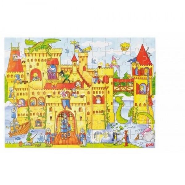 GOKI dėlionė (puzzle) 37x27cm, Riteriai