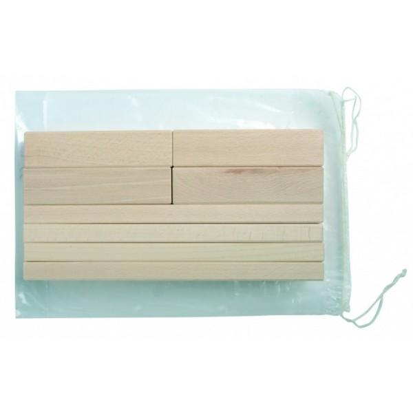 Frobel medinių kaladėlių rinkinys - 8 kaladėlės (102033)