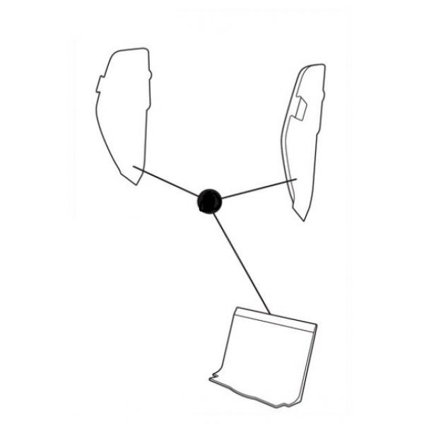 Axiss EPS INSERT SEAT+BACKREST