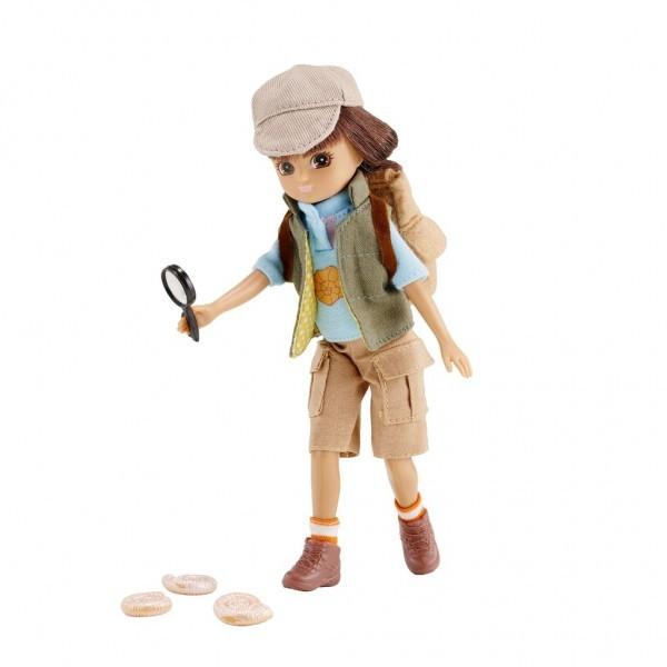 Lottie lėlė - Archeologė nuotrauka nr.1