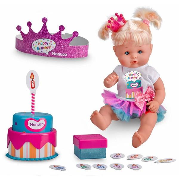 NENUCO Happy Birthday gražioji lėlė