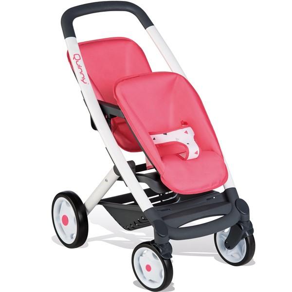 SMOBY Maxi Cosi žaislinis vežimėlis dvyniams