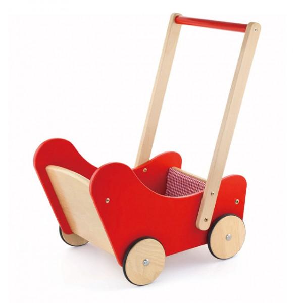 VIGA TOYS Buggy medinis vežimėlis lėlėms
