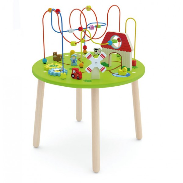 Viga Toys lavinamasis vaikiškas staliukas