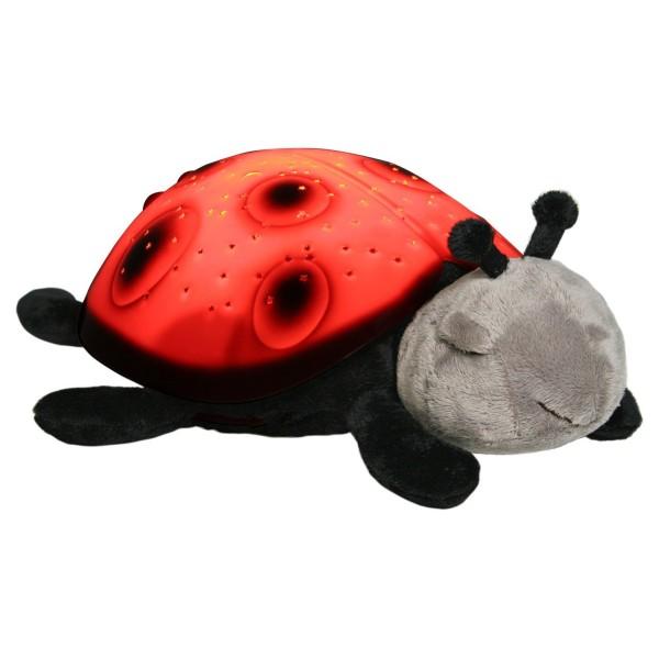 CLOUD-B Šviečianti boružėlė - migdukas (raudona)