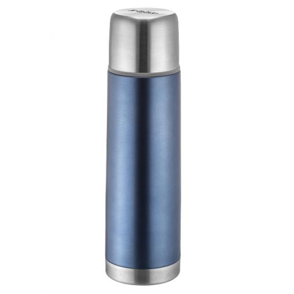 REER 90501 nerūdyjančio plieno Termosas gėrimams 450 ml, mėlynas