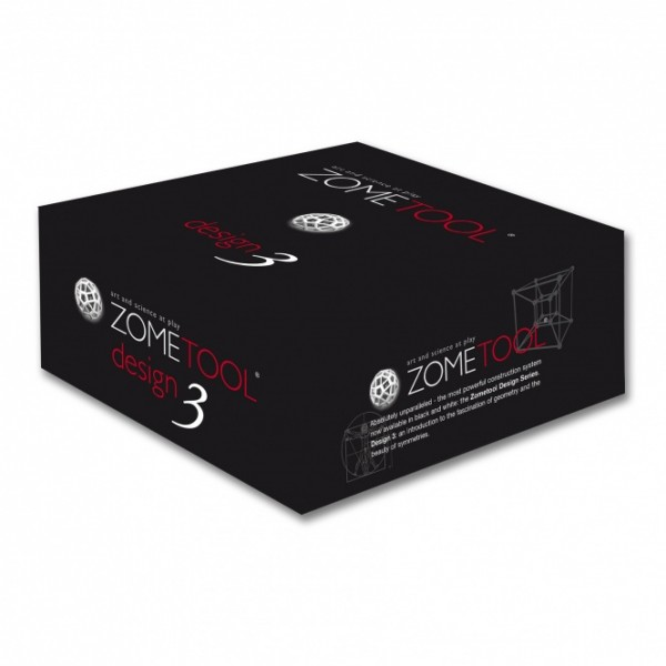 """Zometool konstruktorius - Dizaino rinkinys """"Dizainas 3"""" (00530)"""