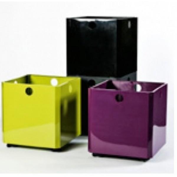 Dėžė žaislams - modulinis konteineris, violetinis