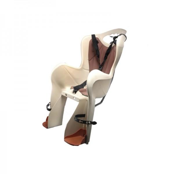 Dviračio vaikiška kėdutė Elibas, ant bagažinės