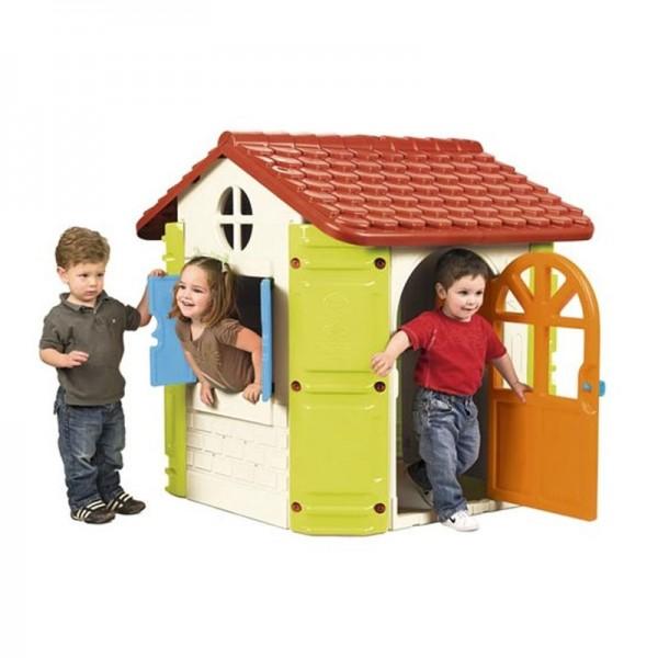 FEBER House didelis žaidimų namelis su griliumi