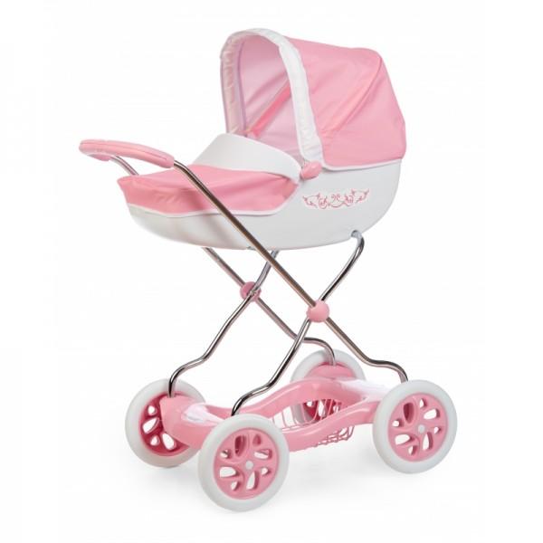 Smoby Inglesina Shara universalus vežimėlis lėlėms, rožinis