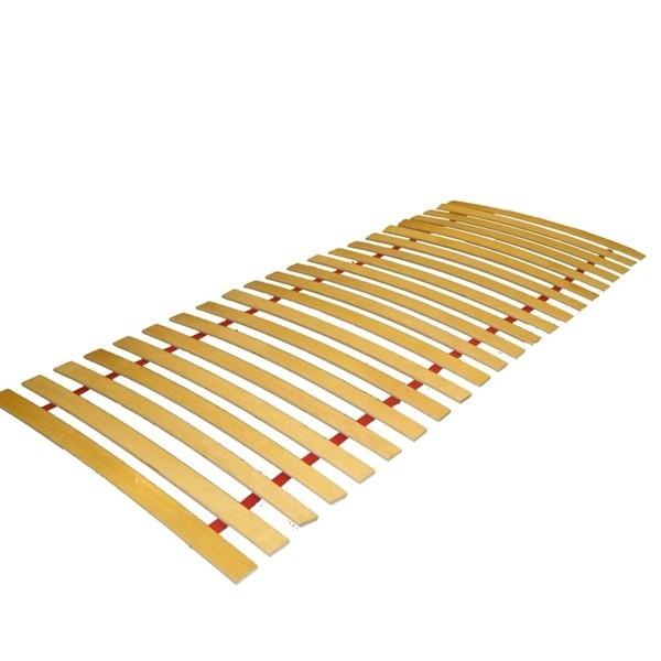 Grotelės lovai 90x200cm, 15 pušinių lentučių