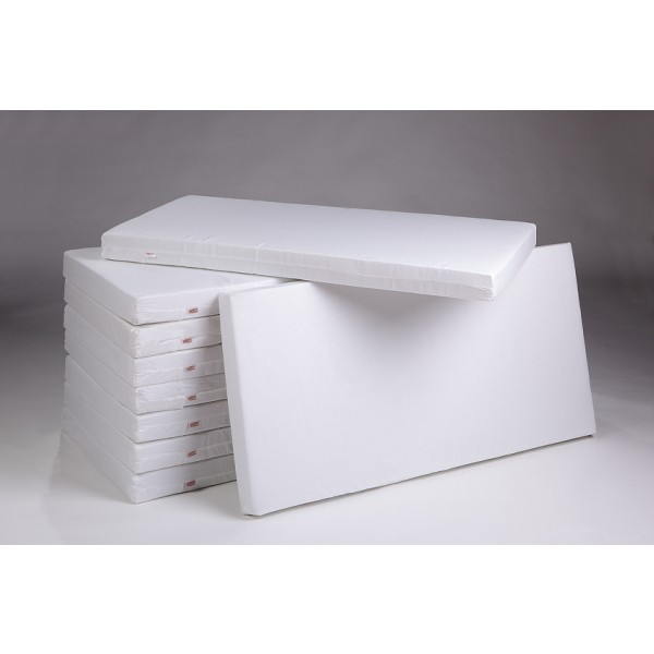 TROLL čiužinys Fiber Block 70x140 cm, baltas