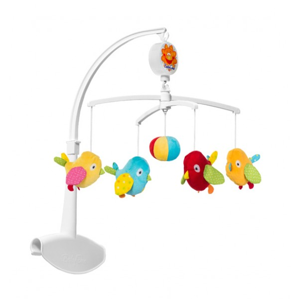 BabyOno muzikinė karuselė paukščiukai