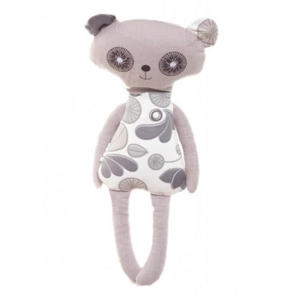 Grikių lukštų žaisliukas-šildyklė panda