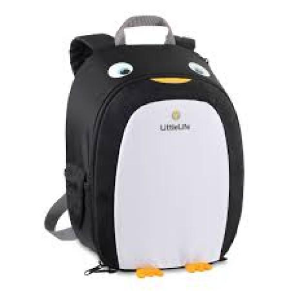 LittleLife vaikiška kuprinė 4+ vaikams Pingvino žaidimų centras