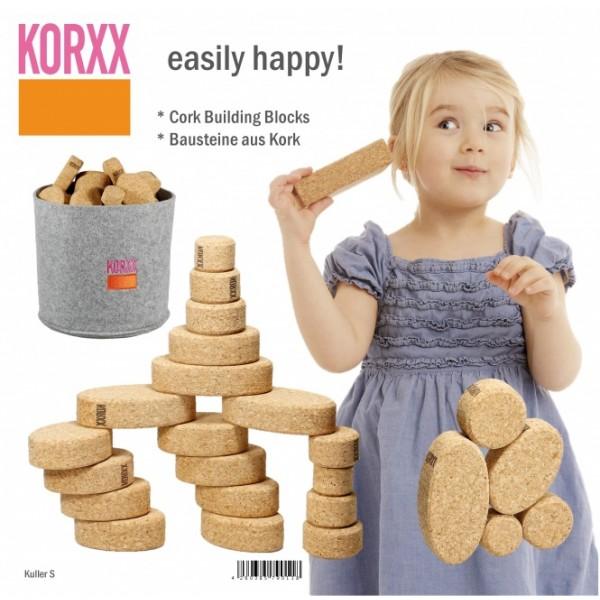 Korxx kamštmedžio kaladėlių rinkinys Kuller S (79011)