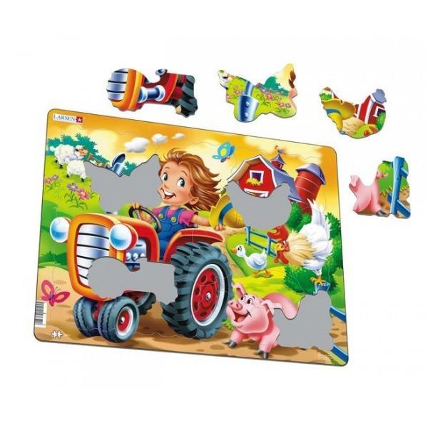 Larsen dėlionė (puzzle) Mažasis ūkininkas Maxi