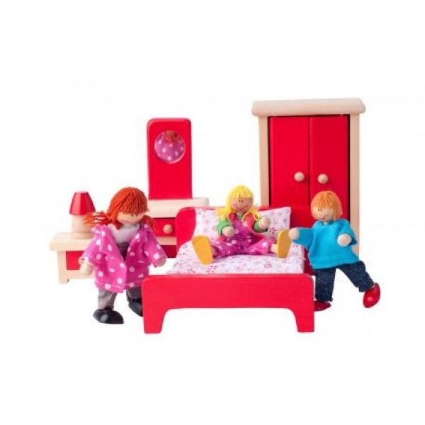 "Lėlių namo baldai ""Miegamasis"""