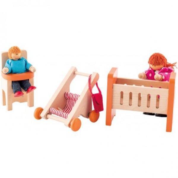 """Lėlių namo baldai """"Vaikų kambarys"""""""