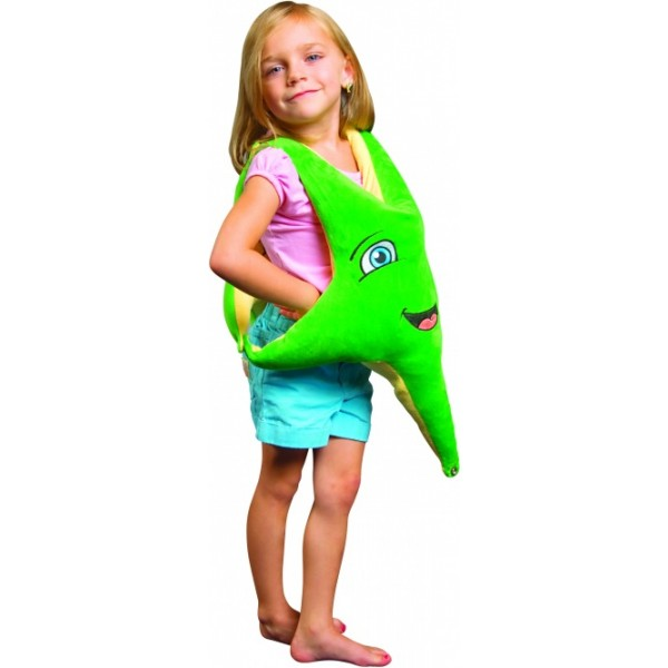 """MEGAFORM pagalbinė priemonė - Pasunkintas žaislas """"Besišypsanti jūros žvaigždė"""" (M592517)"""