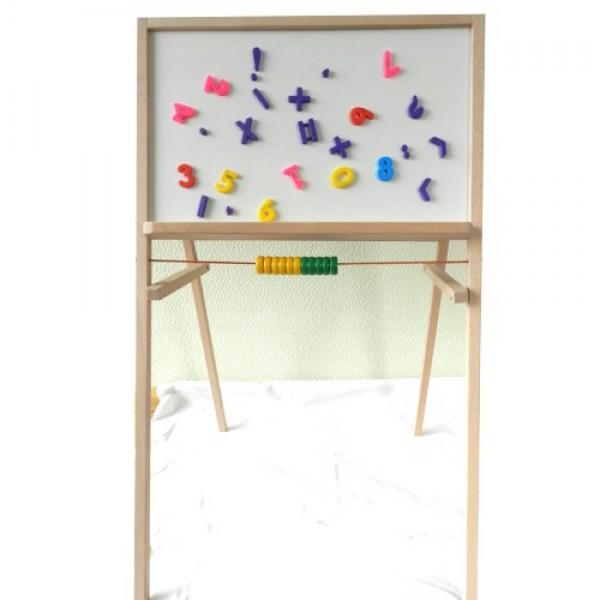 Dvipusė magnetinė-piešimo lenta Bobo Max